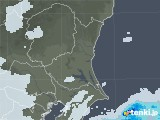 2021年03月12日の茨城県の雨雲レーダー