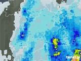 2021年03月13日の群馬県の雨雲レーダー