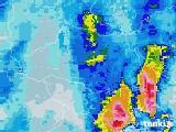 2021年03月13日の埼玉県の雨雲レーダー