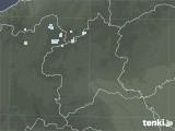 2021年03月19日の群馬県の雨雲レーダー
