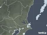 2021年03月20日の茨城県の雨雲レーダー