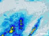 2021年03月21日の埼玉県の雨雲レーダー