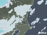2021年03月22日の茨城県の雨雲レーダー