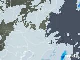 2021年03月25日の茨城県の雨雲レーダー