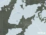 2021年03月25日の群馬県の雨雲レーダー
