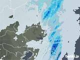 2021年03月28日の茨城県の雨雲レーダー