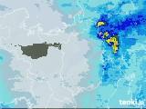 2021年03月28日の滋賀県の雨雲レーダー