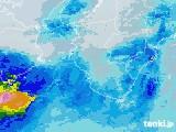 2021年03月28日の和歌山県の雨雲レーダー