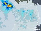 2021年03月28日の秋田県の雨雲レーダー