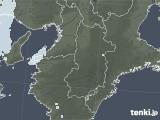 2021年03月30日の奈良県の雨雲レーダー