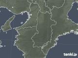 2021年04月01日の奈良県の雨雲レーダー