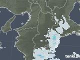 2021年04月02日の奈良県の雨雲レーダー