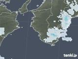 2021年04月02日の和歌山県の雨雲レーダー