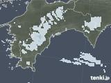 2021年04月02日の高知県の雨雲レーダー