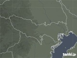2021年04月03日の東京都の雨雲レーダー