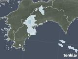 2021年04月03日の高知県の雨雲レーダー