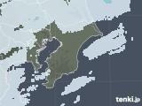 2021年04月04日の千葉県の雨雲レーダー