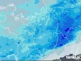 2021年04月04日の滋賀県の雨雲レーダー