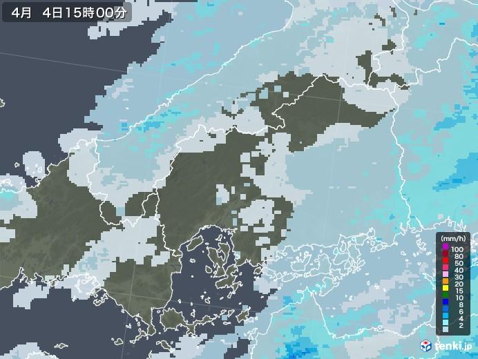 雨雲 レーダー 広島 市