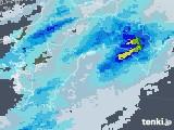 2021年04月04日の高知県の雨雲レーダー