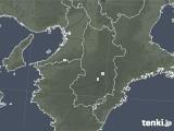 2021年04月05日の奈良県の雨雲レーダー