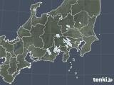 2021年04月07日の関東・甲信地方の雨雲レーダー