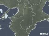 2021年04月07日の奈良県の雨雲レーダー