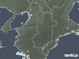 2021年04月08日の奈良県の雨雲レーダー