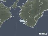 2021年04月08日の和歌山県の雨雲レーダー
