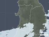 2021年04月08日の秋田県の雨雲レーダー
