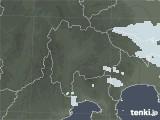 2021年04月09日の山梨県の雨雲レーダー