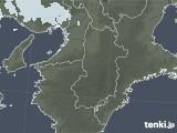 2021年04月09日の奈良県の雨雲レーダー