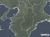 2021年04月11日の奈良県の雨雲レーダー