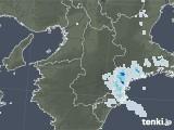 2021年04月12日の奈良県の雨雲レーダー