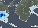 2021年04月12日の和歌山県の雨雲レーダー