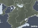 2021年04月14日の奈良県の雨雲レーダー