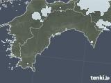 2021年04月14日の高知県の雨雲レーダー