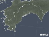 2021年04月15日の高知県の雨雲レーダー