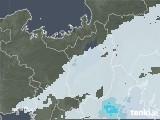 2021年04月16日の滋賀県の雨雲レーダー