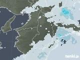 2021年04月16日の奈良県の雨雲レーダー