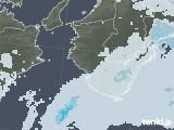 2021年04月16日の和歌山県の雨雲レーダー