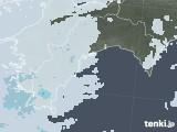 2021年04月16日の高知県の雨雲レーダー