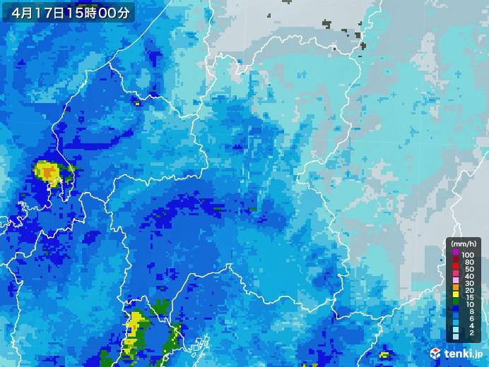 雨雲 レーダー 岐阜