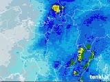 2021年04月17日の滋賀県の雨雲レーダー