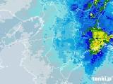2021年04月17日の奈良県の雨雲レーダー