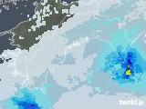 2021年04月17日の高知県の雨雲レーダー