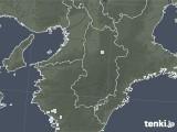 2021年04月20日の奈良県の雨雲レーダー