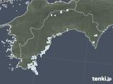 2021年04月20日の高知県の雨雲レーダー