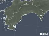 2021年04月21日の高知県の雨雲レーダー