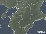 2021年04月22日の奈良県の雨雲レーダー